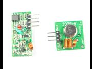 433M 433MHZ Wireless Transmitter Module Receiver Sensor Link Kit 433MHZ wireless Transmitter Receiver module Superregenerative for Arduino Project 9SIAAZM4G89836