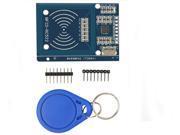MFRC-522 RC522 RFID RF IC Card Inductive Module + S50 White Card + Key Ring for Arduino 9SIV0EU5BX1790