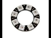 8 Bit WS2812 5050 RGB LED Ring Round Decoration Bulb Development Board