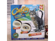 Cat Toilet Seat Pad Training System Tray As Seen On TV As Seen on Shark Tank Cat Toilet Training Kit