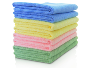 1Pcs 12 x 12 in Professional 30 30cm Blend 450 GSM Super Plush Microfiber Polishing Buffing Car Wash Car Wash Towels Microfiber Towel