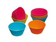 7cm Silicone Cupcake Liners Mold Muffin Cases Muti Round Shape Cup Cake Tools Bakeware Baking Pastry Tools Cake Mold (Round) 9SIAAZM5PJ4128