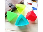 7cm Silicone Cupcake Liners Mold Muffin Cases Muti Round Shape Cup Cake Tools Bakeware Baking Pastry Tools Cake Mold (triangle) 9SIAAZM5PT0234
