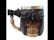 Novelty 3D Creative Coffee Mugs 3D Skull Beer Mug Striking Coffee Tea Bottle Mug Tankard Drinking Cup 9SIAAZM5ZH9522