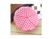 Reusable Heart-shaped Belgian Waffle Baking Mould Pan Waffle Cake Silicone Mold 9SIAAZM6218947