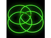 "50 22"" GREEN Glowing Necklaces Glow Stick Party Treats"