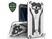 Samsung Galaxy J7 Case, Zizo [Static Series] Shockproof [Military Grade Drop Tested] w/Built-in Kickstand [Galaxy J7 Heavy Duty Case] Impact Resistant