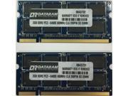4GB (2X2GB) DDR2  MEMORY FOR  Hewlett-Packard Pavilion Dv5-1011ax