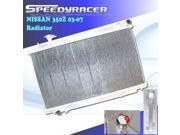 NISSAN 350Z 03 07 Manual Performance Racing Aluminum Radiator