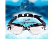 Professional Waterproof Adjustable Non-Fogging Swim Goggles Anti-Fog UV Protect Swimming Glasses with Ear Plug 9SIAB1549S6201