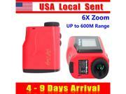 [ Ship from USA !!! ] Portable 6X Zoom Digital Laser Distance Measurement Monocular Laser Rangefinder for Golf & Hunting thumbnail