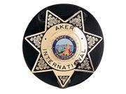 Aker Leather Aker 592 Clip on Star Badge Holder