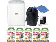 Fujifilm INSTAX SHARE SP 2 Smart Phone Printer Silver with Great Value Kit