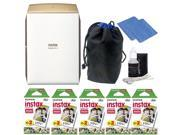 Fujifilm INSTAX SHARE SP 2 Smart Phone Printer Gold with Great Value Kit