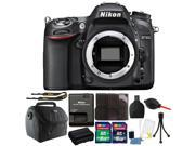 Nikon D7100 24.1MP Digital SLR Camera with 24GB Top Accessory Kit International Version