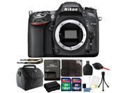 Nikon D7100 24.1MP Digital SLR Camera with 24GB Top Accessory Kit International Version