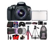 Canon EOS Rebel T6 18MP Digital SLR Camera + 18-55mm + VL-288 LED Light 32GB New Kit 9SIAB2G6NT9047