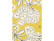 2017  Academic Year Linen Floral Simplicity Planner