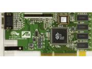 AGP VIDEO CARD, ATI 109-52800-01 VER.2.0, P/N 1025281300