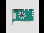 Video card AGP, P/N 109-52000-01, 6001130, (b.1A)