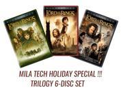 The Lord of the Rings: Motion Picture Trilogy (Widescreen, DVD, 6-Disc Set) 9SIAB686RH5972
