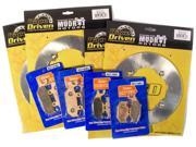 2014 16 Can Am Commander Max 1000 4x4 XT Front Rear MudRat Brake Rotors Pads