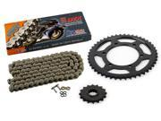2001 2002 2003 Yamaha FZS 1000 FZ 1CZ DZX X Ring Chain and Sprocket 16 46 120L