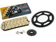 2006 Yamaha YZF R1 SP 520 Conv CZ SDZZ Gold X Ring Chain And Sprocket 17 45 120L