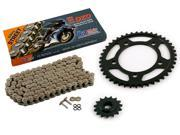 2004 2005 Honda CB600F CB 599 CZ DZO O Ring Chain and Sprocket Kit 15 43 122L