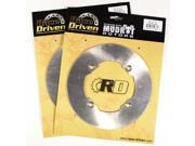 2014 2015 2016 Can-Am Commander Max 1000 4x4 XT Front MudRat Brake Rotor Discs