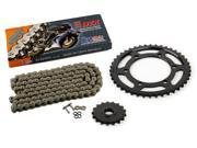 03-05 Yamaha R6 YZF-R6 530 Conversion CZ DZX X-Ring Chain & Sprocket 17/42 120L