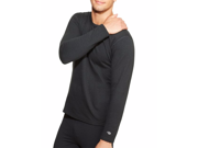 Champion Men's Long Sleeve Thermal Shirt, Small, Black thumbnail