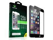 LENTION Full Screen Coverage Premium Tempered Glass Screen Protector Film for iPhone 6/iPhone 6s,Black 9SIABBD49N5233