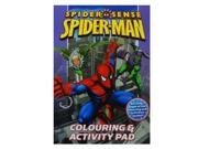Spider Sense Spiderman Colouring & Activity Pad 9SIABBU4RA2125