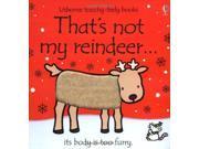 That's Not My Reindeer (Touchy Feely) 9SIABBU4TE3772