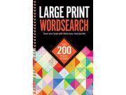 Large Print Wordsearches