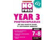 No Fuss: Year 3 Photocopiables (No Fuss Photocopiables)