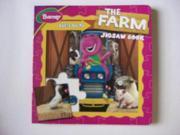 BARNEY LET'S GO TO THE FARM JIGSAW BOOK 9SIABBU5N16945