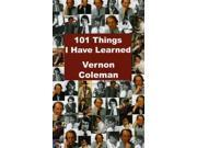 101 Things I Have Learned