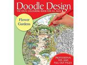 Doodle Design Pad - Flower Gardens