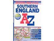 Southern England Regional Road Atlas (A-Z Road Maps & Atlases)