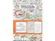 Adult Colouring & Word Search Book: Wildlife