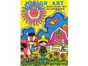 Country Cousins: Junior Art Book - Colour by Numbers for Beginners