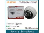 US STOCK Hikvision US version DS-2CD2142FWD-IS 2.8mm POE Audio Outdoor Security IP Camera