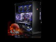 Image of CybertronPC CLX Set High Performance Gaming PC-Liquid Cooled Intel i7 6900K 4.2GHz(Overclocked) 16GB DDR4 2TB HDD 240GB SSD NVIDIA GeForce GTX 1060 6GB MS Win 1