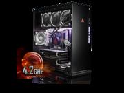 Image of CybertronPC CLX Set High Performance Gaming PC-Liquid Cooled Intel i7 6850K 4.2GHz(Overclocked) 64GB DDR4 4TB HDD 480GB SSD DUAL NVIDIA GeForce GTX 1080 8GB in