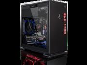 CLX SET GAMING PC Liguid Cooled Intel i7-7740X 4.3GHz (4 Cores) 16GB DDR4 1TB HDD & 120SSD NVIDIA GeForce GTX 1060 3GB GDDR5 MS Windows 10 Home 64-Bit