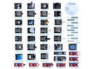For Arduino,Elegoo 37-in-1 Sensor Module Kit for UNO R3, MEGA, NANO 9SIABFW5179161