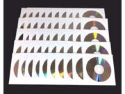 50 pieces Blank DVD RW DVDRW 4x Silver Shiny Top 4.7GB Rewritable Media Disc