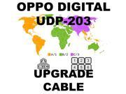 OPPO DIGITAL UDP-203 REGION FREE UNLOCK HARDWARE UPGRADE CABLE KIT NO SOLDERING 9SIABG956S5927